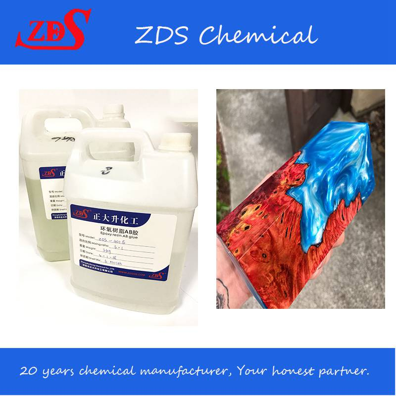 zds-crystal clear epoxy resin
